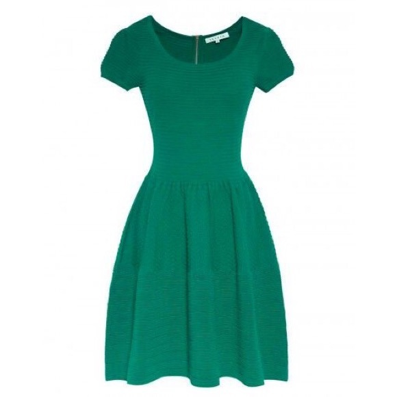 Sandro Dresses & Skirts - Sandro green knit dress 1 S/M